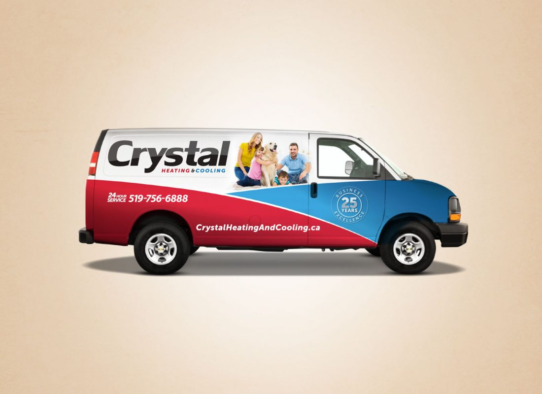 Crystal Heating and Cooling Brand Development