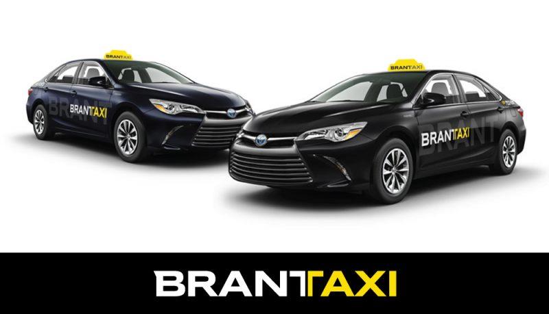 Brant Taxi brand development