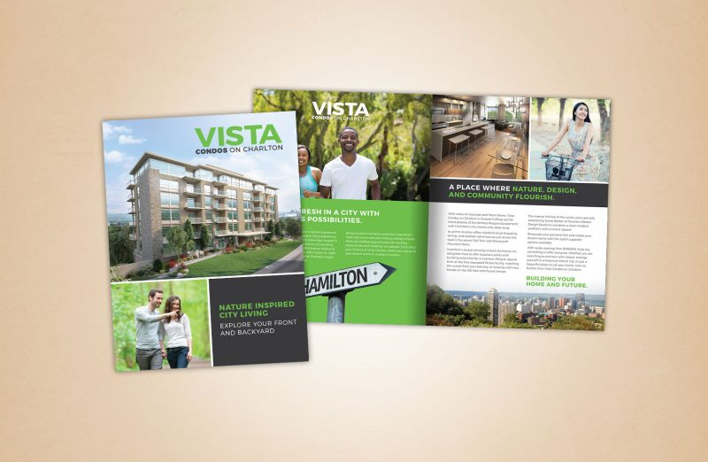 Vista marketing materials