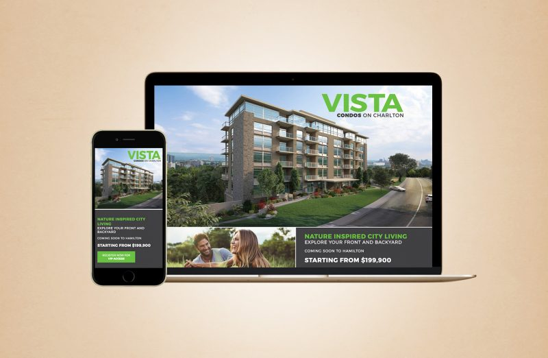Vista web design