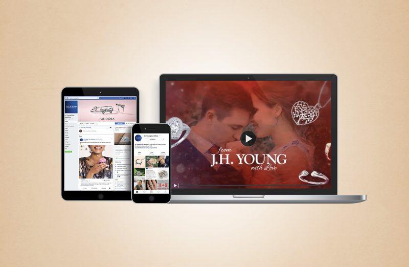J.H. Young Social Media