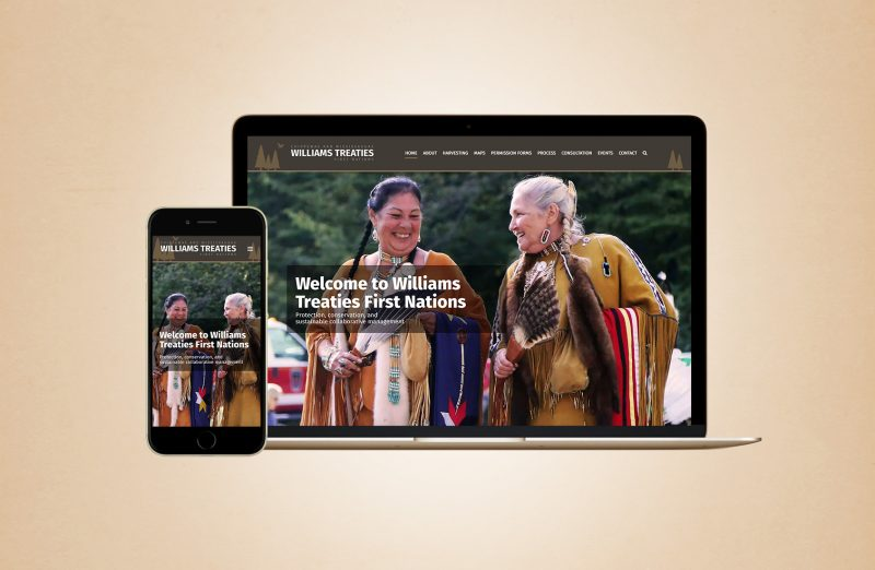 Williams Treaties Website Design