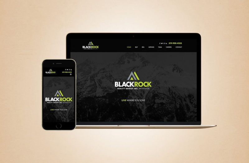 Blackrock Realty Website Design