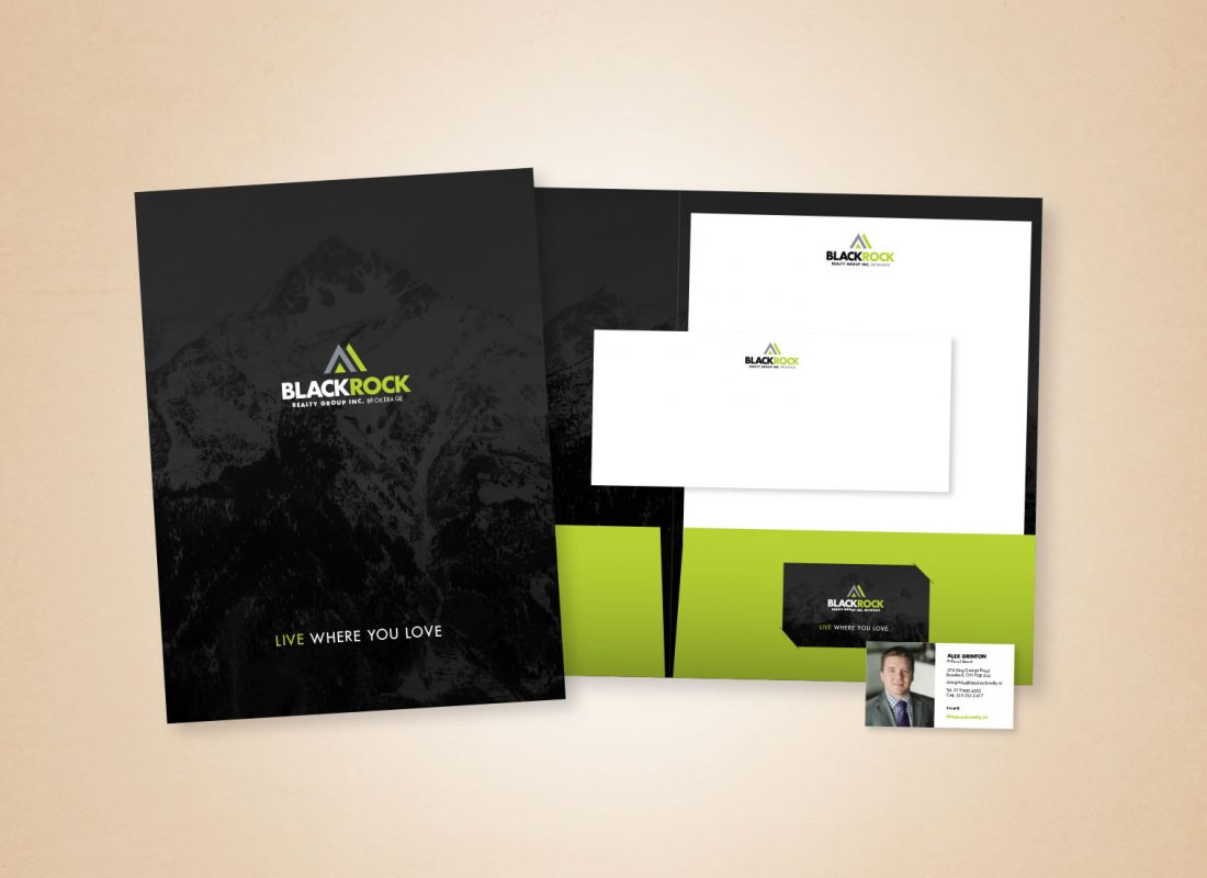 Blackrock Realty Marketing Materials