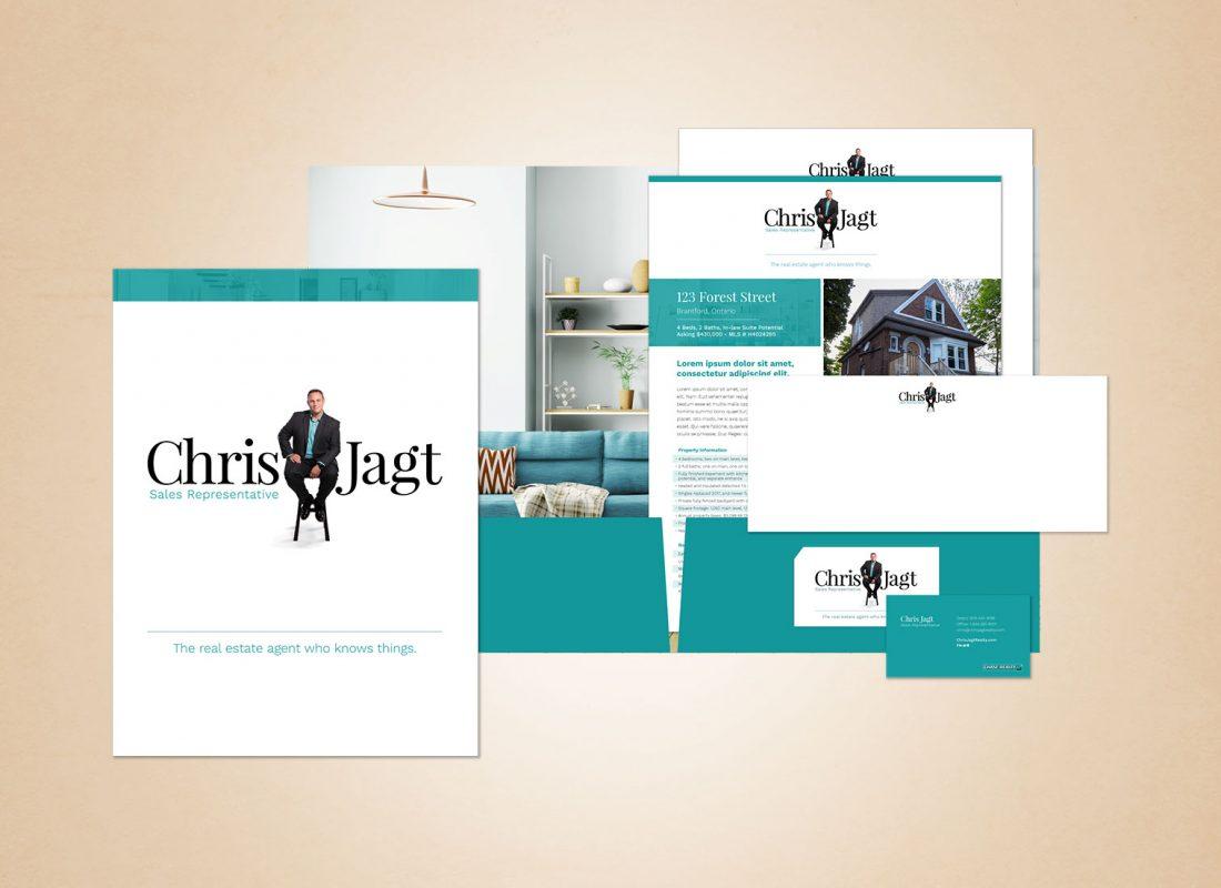 Chris Jagt Real Estate Marketing Materials