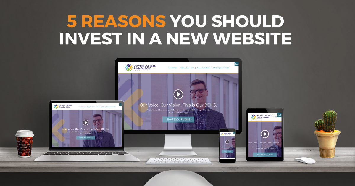 5 Reasons You Should Invest In A New Website