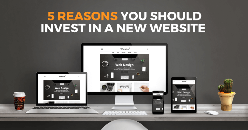 Build a new website