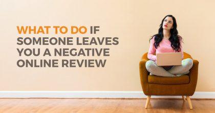 Negative Online Review Guide