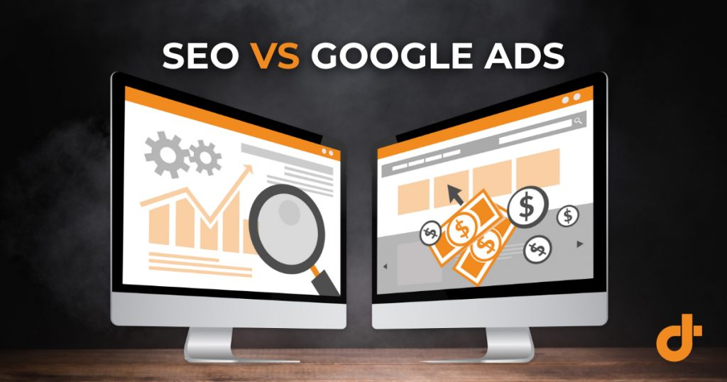 difference between SEO & Google Ads
