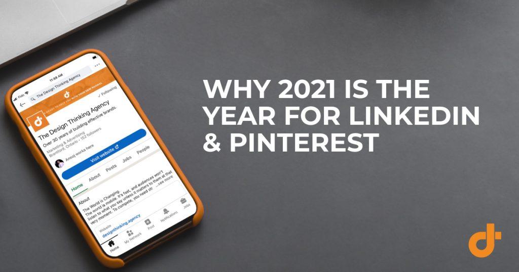 LinkedIn and Pinterest